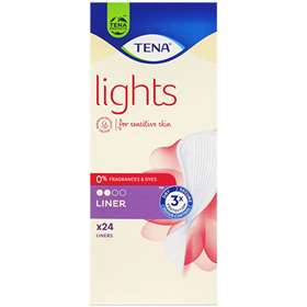 Tena Lights Liners 24