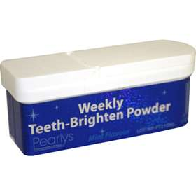 Pearlys Weekly Teeth-Brighten Powder