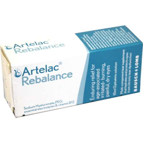 Image of Bausch And Lomb Artelac Rebalance Eye Solution 10ml