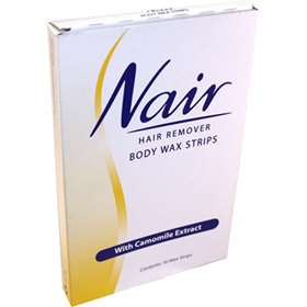 Nair Hair Remover Body Wax Strips 16