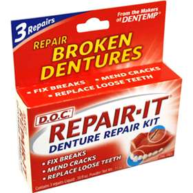 Dentemp Denture Repair Kit 3