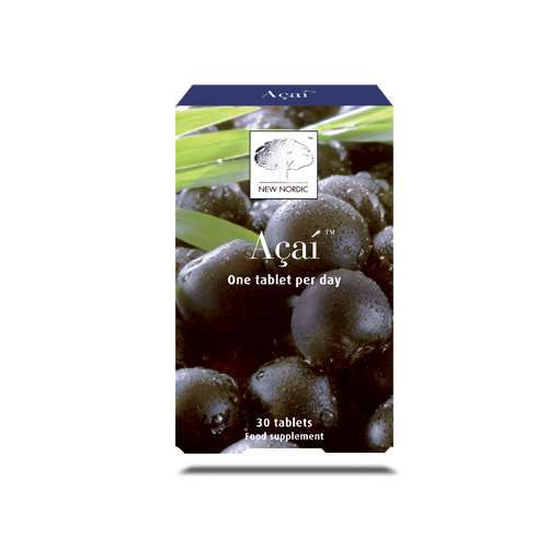 New Nordic Acai Tablets 30