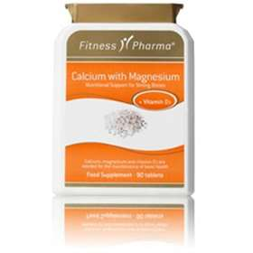 Fitness Pharma Calcium with Magnesium 90 Tablets