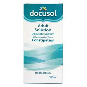 Docusol Adult Solution 300ml Expresschemist Co Uk Buy