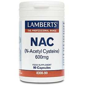 Lamberts NAC 600mg Food Supplement 90 Capsules