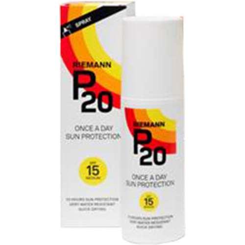 Riemann P20 Once a Day Sun Protection Spray SPF 15 100ml