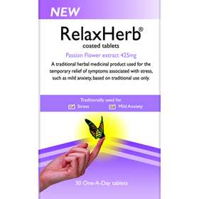 Schwabe RelaxHerb 30 One a Day Tablets