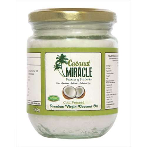 Coconut Miracle Virgin Coconut Oil 184g
