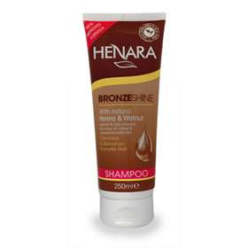 Henara Bronzeshine Brunette Hair Shampoo 250ml