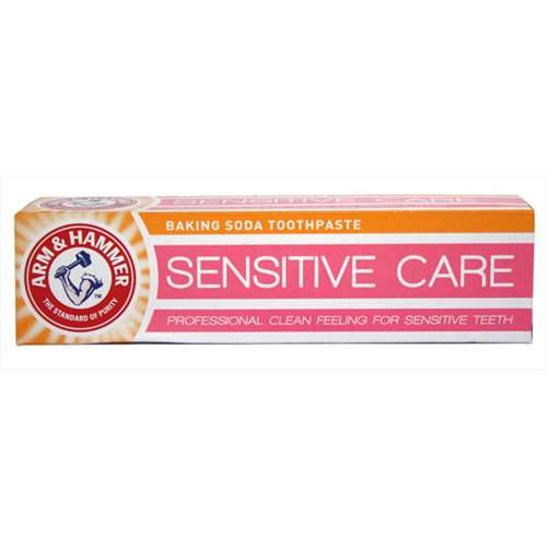 Arm and Hammer sensitive care baking soda toothpaste 125g