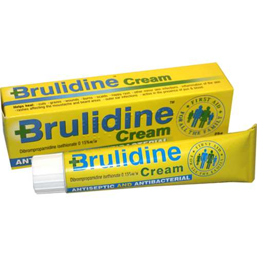 Image of Brulidine Antiseptic And Antibacterial Cream 25g