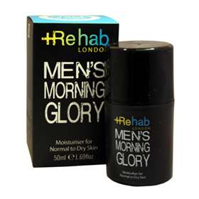 Rehab London Men's Morning Glory Moisturiser For Normal to Dry Skin 50ml