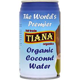 Tiana Organic Coconut Water 350ml