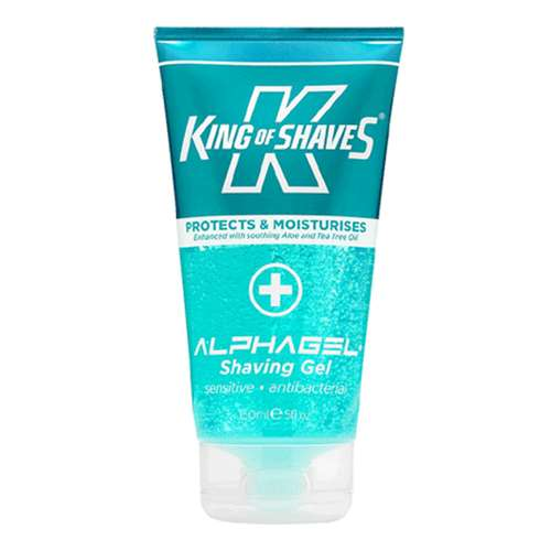 King Of Shaves AlphaGel Antibacterial Shaving Gel 150ml