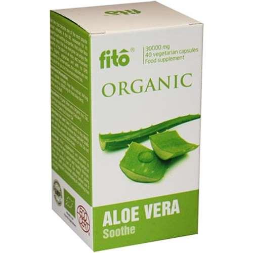 Fito Organic Aloe Vera Capsules 40
