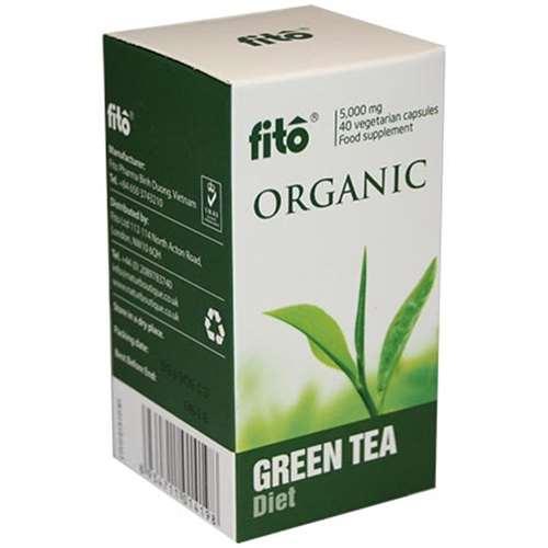 Fito Organic Green Tea Capsules 40
