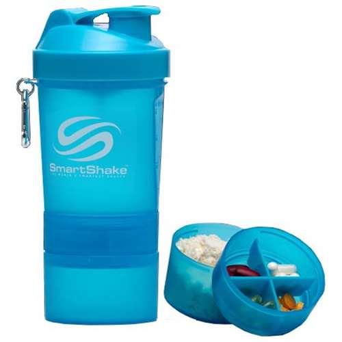 SmartShake Neon Blue 20oz Shaker lowest price