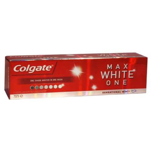 Image of Colgate Max White One Sensational Mint Toothpaste - 75ml