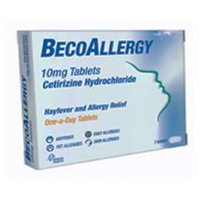 BecoAllergy Hayfever and Allergy Relief 10mg Tablets 7