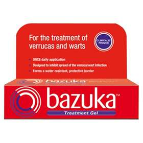 Bazuka Verrucas & Warts Treatment Gel 6g