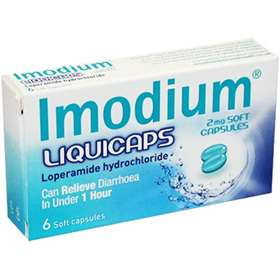 Imodium Liquicaps 2mg Soft Capsules 6