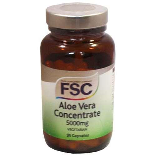 Image of FSC Aloe Vera Concentrate 5000mg 90 caps