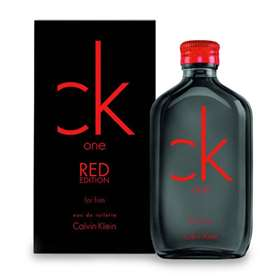 CK One RED Edition EDT For Him 50ml