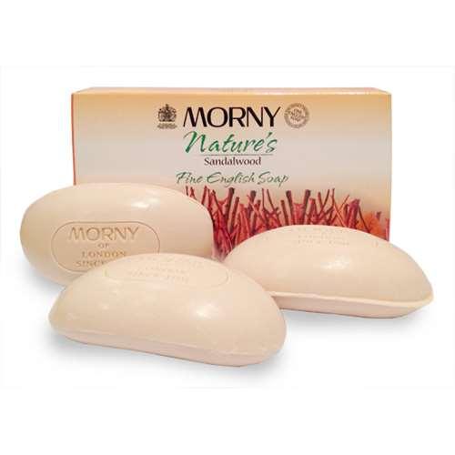 Image of Morny Nature's Sandalwood Fine English Soap 3 x 100g