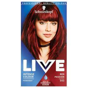 Schwarzkopf Live Intense Colour Permanent 43 Red Passion