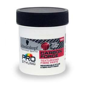 Schwarzkopf Pro Styling Carbon Force Texturizing Fibre Paste 130ml