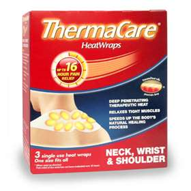 ThermaCare Heatwraps - Neck, Wrist and Shoulder (3)