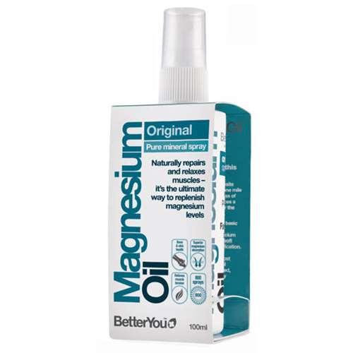 Image of BetterYou Magnesium Oil Original Spray 100ml