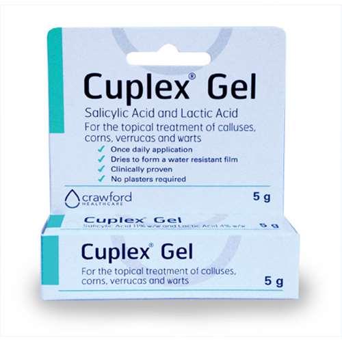 Image of Cuplex Corn Verrucas & Warts Gel 5g
