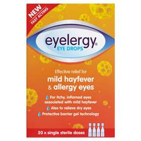 Eyelergy Hayfever Eye Drops 20 Doses