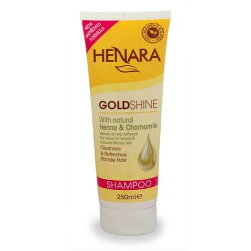 Image of Henara Goldshine Shampoo 250ml