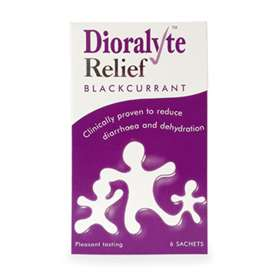 Dioralyte Relief Blackcurrant 6