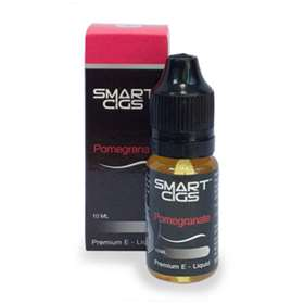 SmartCigs Pomegranate E-Cig Liquid 12mg Nicotine 10ml