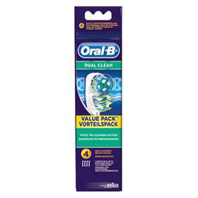 Oral-B Dual Clean Replacement Brush Heads 4