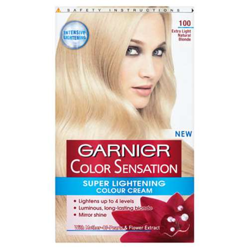 Image of Garnier Color Sensation Super Lightening Colour Cream 100