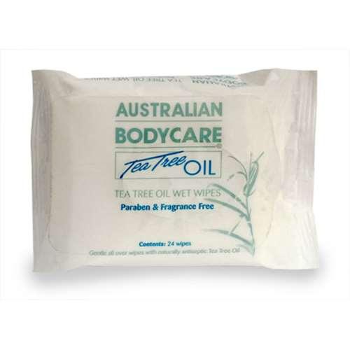 Image of Australian Bodycare Tea Tree Oil Wipes 24