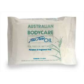 Australian Bodycare Tea Tree Oil Wipes 24