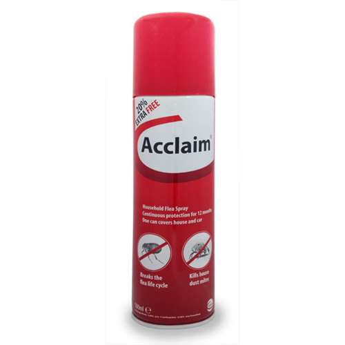 Image of Acclaim Household Flea & Dust Mite Spray 500ml