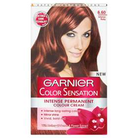 Garnier Colour Sensation Intense Permanent Colour Cream 6.60 Ruby