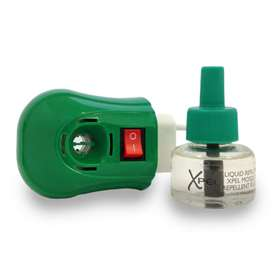 Xpel Plug In Diffuser With 35 ml Insect Repellent Solution