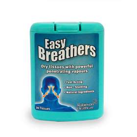 Easy Breathers Tissues With Vapour 30