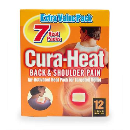 Image of Cura Heat 12 Hour Back and Shoulder Pain 7