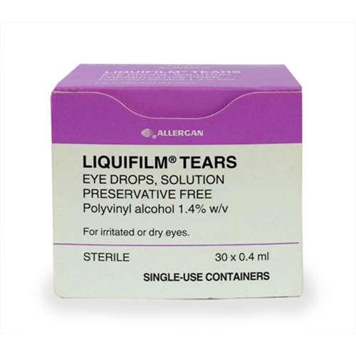 Image of Allergan Liquifilm Tears 30x0.4ml