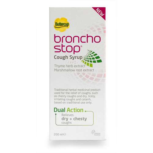 Image of Buttercup Broncho Stop Syrup 200ml