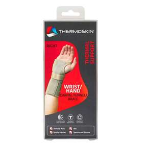Thermoskin Thermal Wrist/Hand Brace Right Extra Small 82243