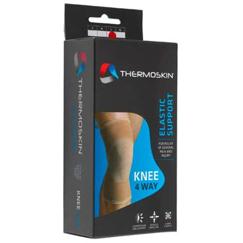 Thermoskin Elastic 4 Way Knee Support  Large